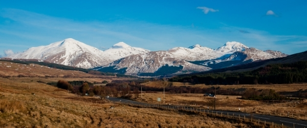 View of Ben More from Tyndrum